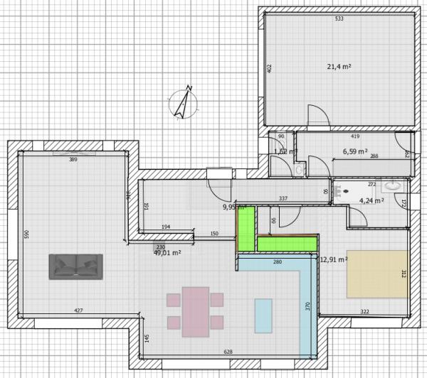 plan maison r 1 120m2 rt2012 254 messages page 12. Black Bedroom Furniture Sets. Home Design Ideas