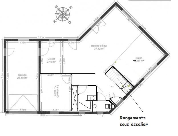 Plan Maison En V 130 M2 44 Messages Page 3