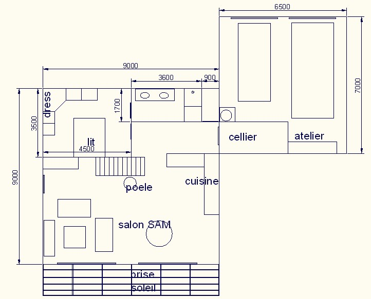 Maison cubique plan avie home for Plan de maison cubique
