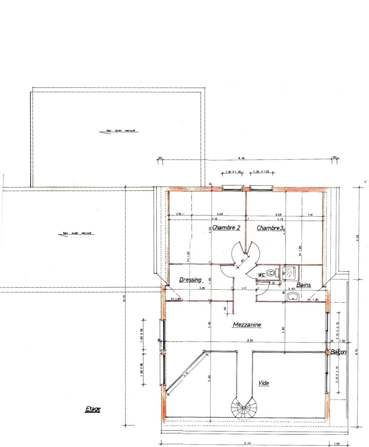 Plan maison orientation sud for Plan maison sud ouest