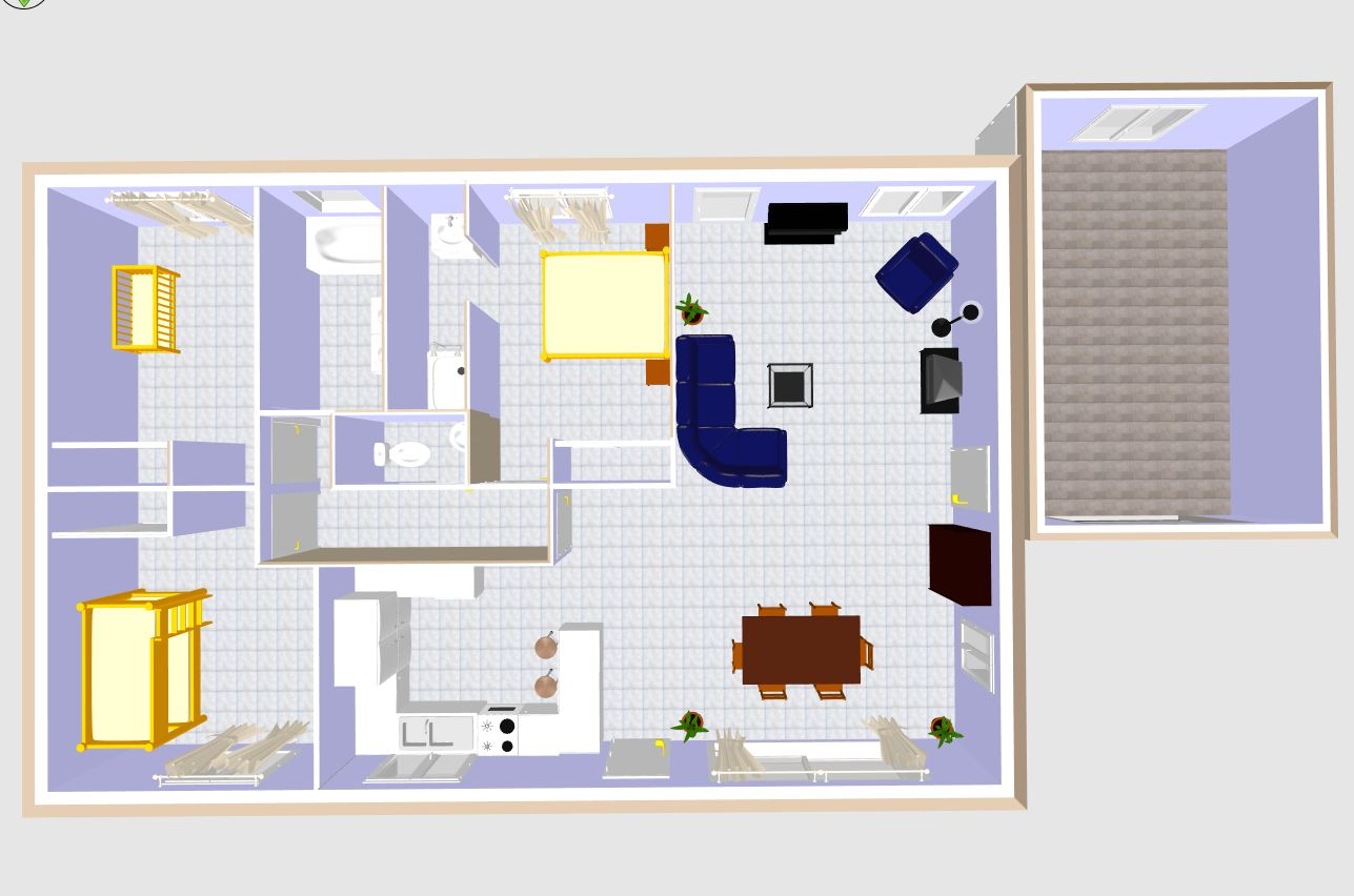 Plan maison plein pied 100m2 rectangle 102 messages page 6 for Plan maison contemporaine 100m2