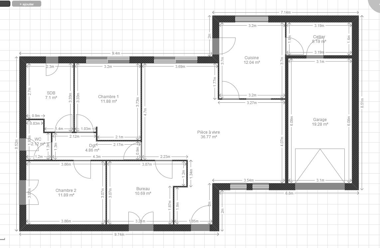 Plan De Maison Plain Pied 104m2 (33)