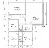 plan maison 80 m