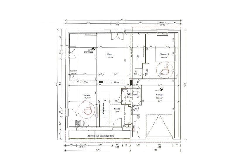 Plan De Maison En U. Free Cool Plan Maison Moderne Gratuit Pdf