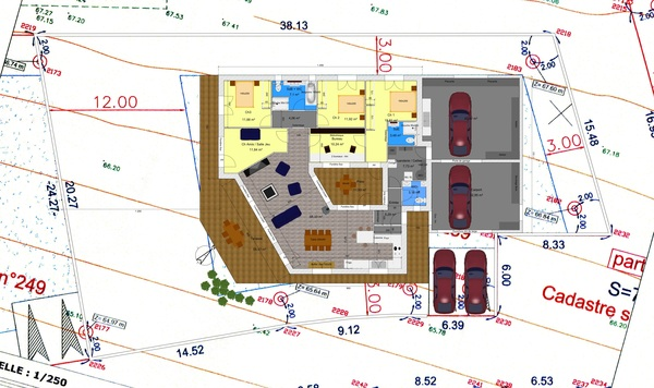 Maison Plain Pied Avec Patio. Plan Maison Plein Pied Avec Patio