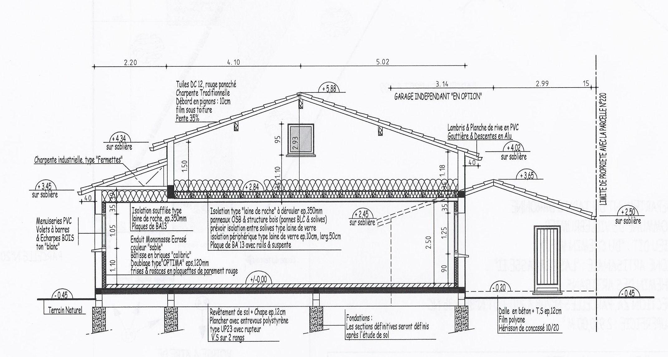 Plan maison complet soussol triplex de style amricain 3 for Plan complet maison