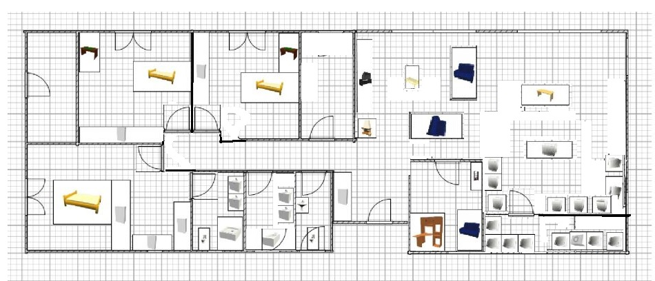 Plan plain pied 150m2 - 75 messages