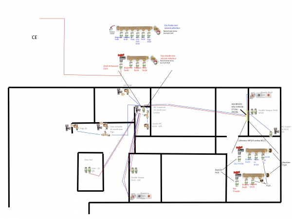 plan plomberie multicouche. Black Bedroom Furniture Sets. Home Design Ideas