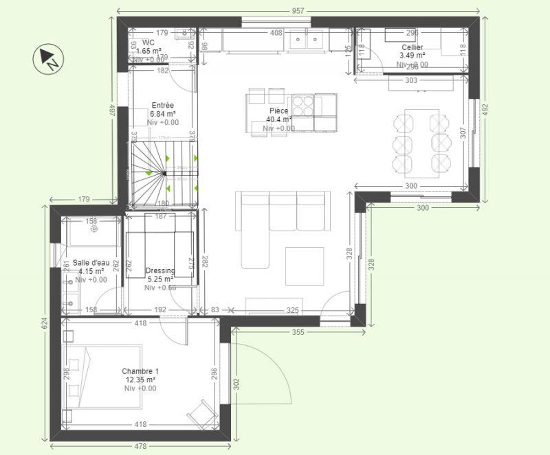 Avis plan maison tage 19 messages for Plan de maison 2 etage