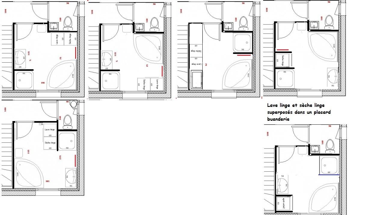 Plan de salle de bain j 39 h site 17 messages for Plan salle de bain wc