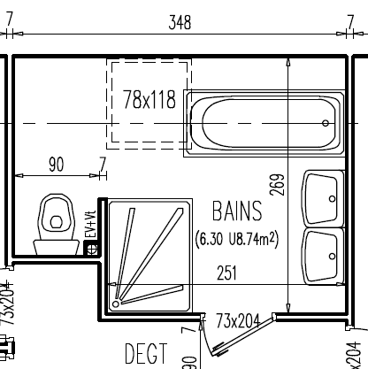 Simple Etancheite Plancher Bois Salle Bain With