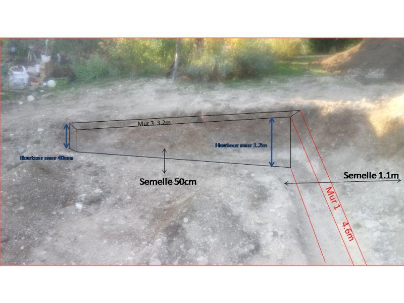 Construction Dun Mur De Soutènement En Parpaing A Bancher