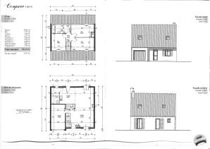 plan maison en pierre