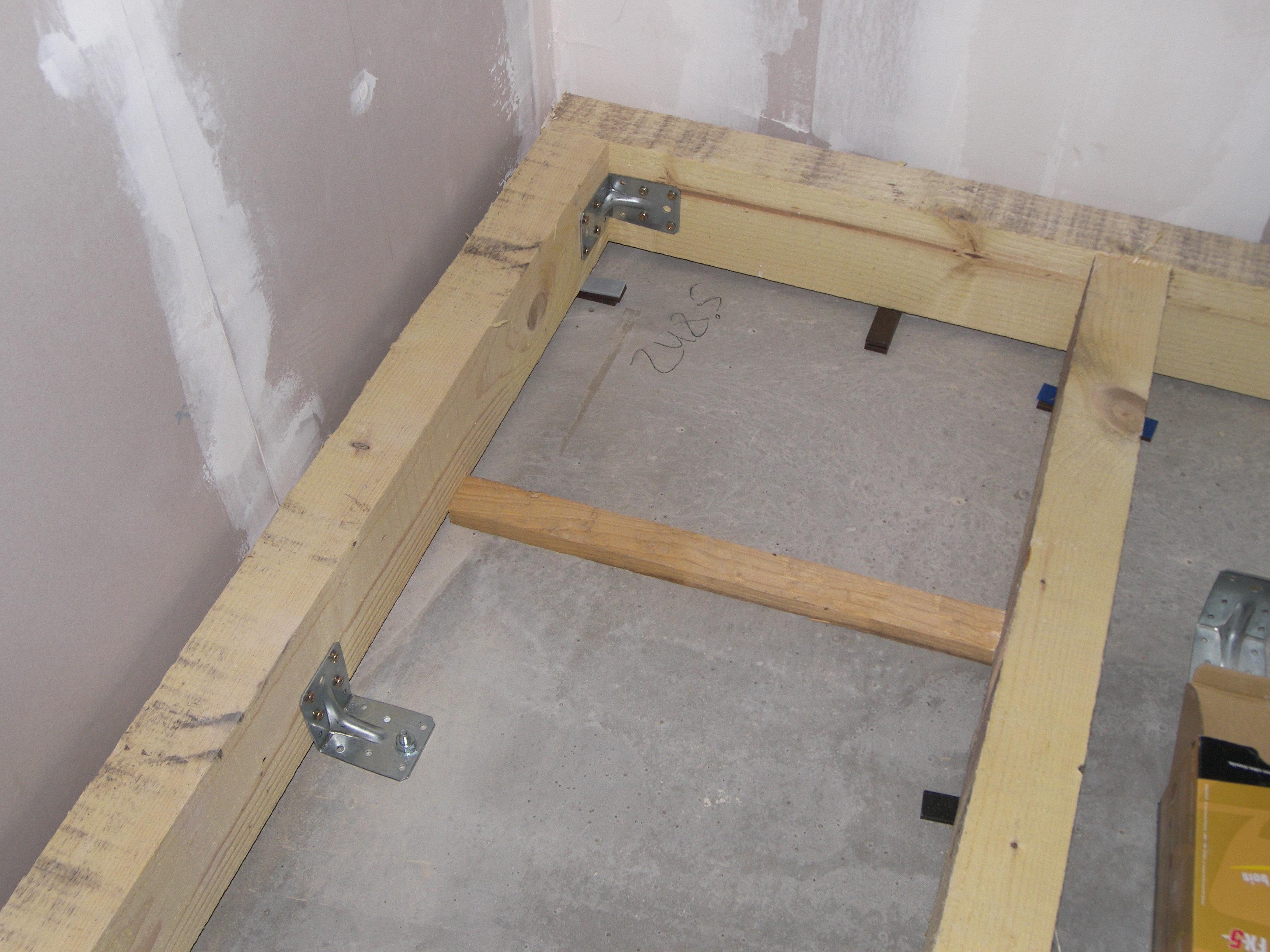 plancher bois isolé sur dalle béton - 8 messages - Isolation Sol Salle De Bain