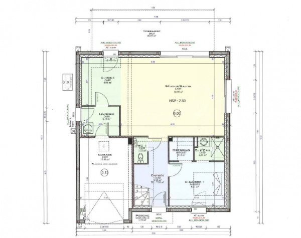 Plans maison avis salle de bain tage 31 messages for Plan amenagement salle de bain 9m2
