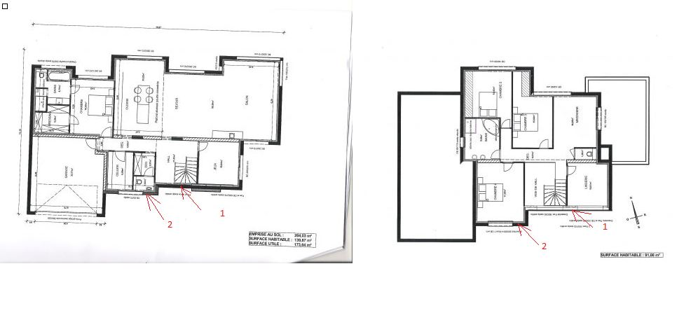 Plans maison cubique 200m2 19 messages for Plan maison 200m2