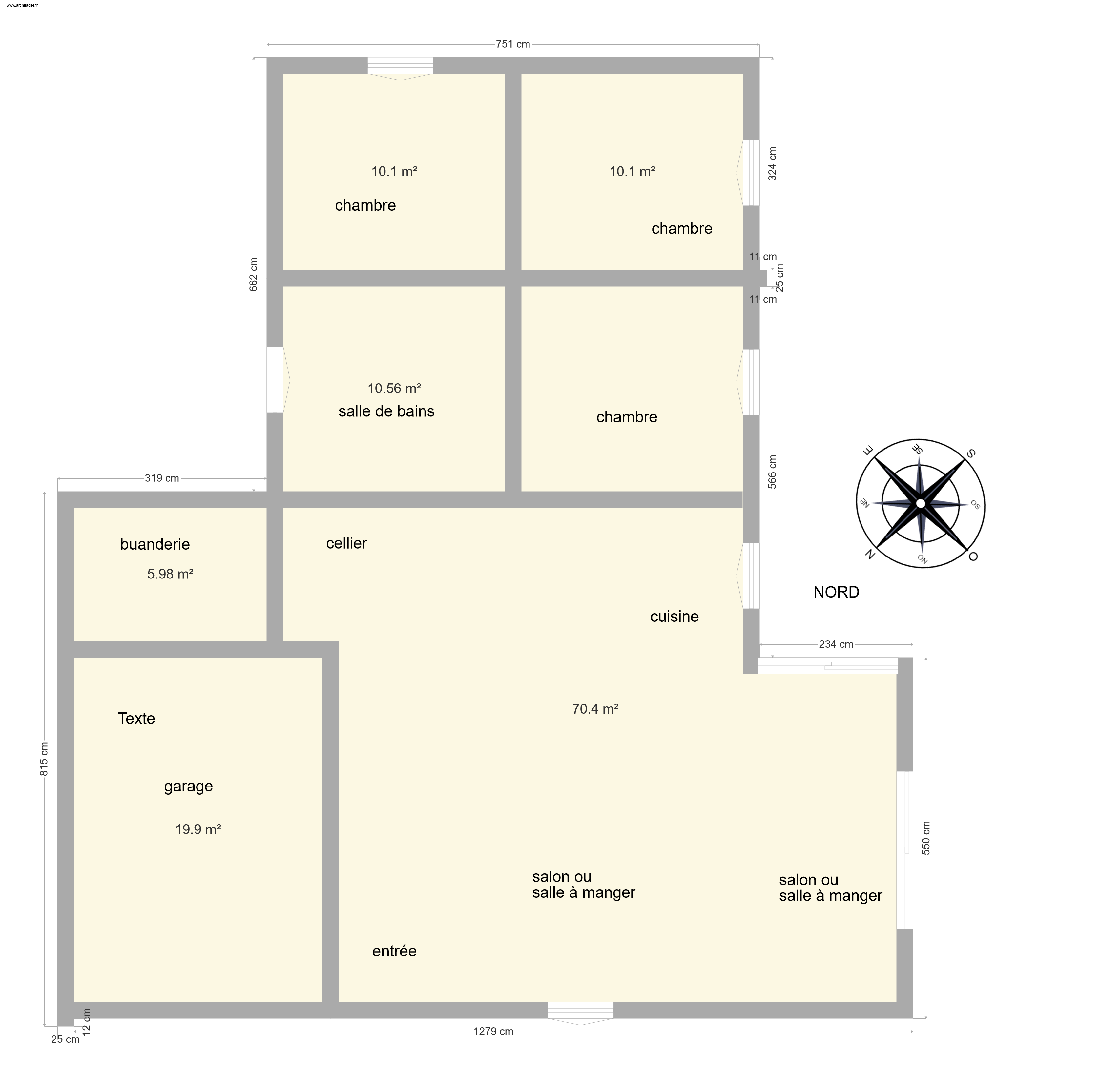 Plans plain pied 3 chambres 115m² 32 messages