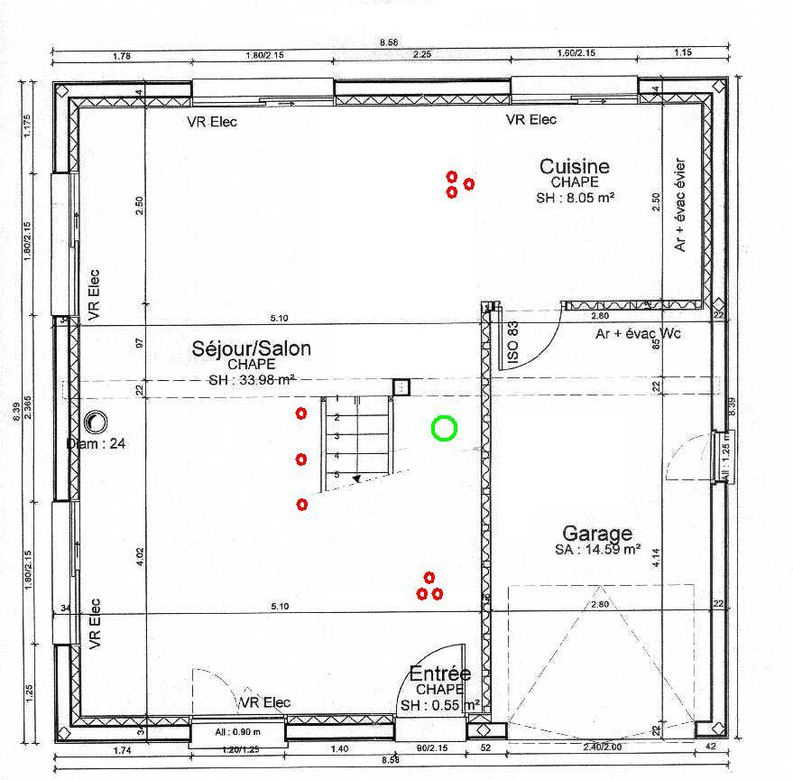 Realiser Plan De Maison Best Vue Du Rez De Chausse Des Plans De