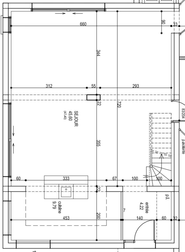 possibilit de supprimer le poteau de soutien 39 messages. Black Bedroom Furniture Sets. Home Design Ideas