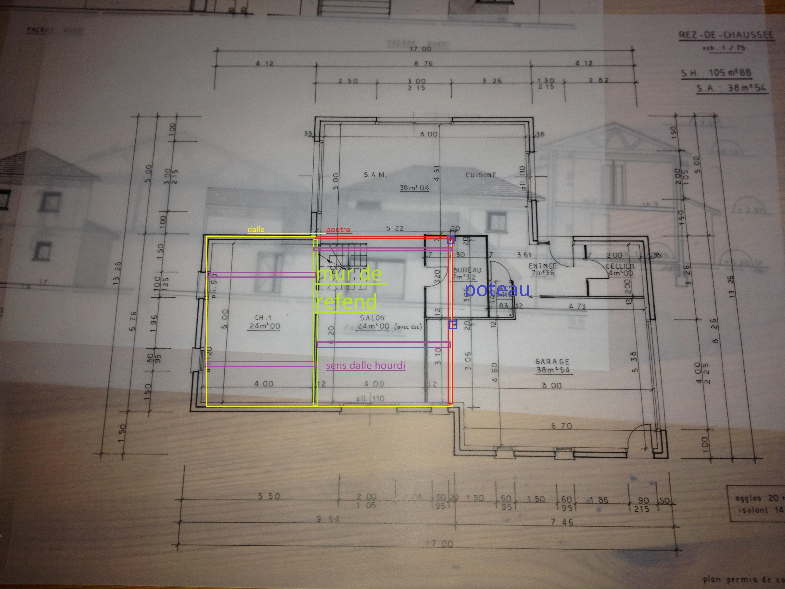 poteaux beton pour soutenir une dalle au 1er etage 21 messages. Black Bedroom Furniture Sets. Home Design Ideas