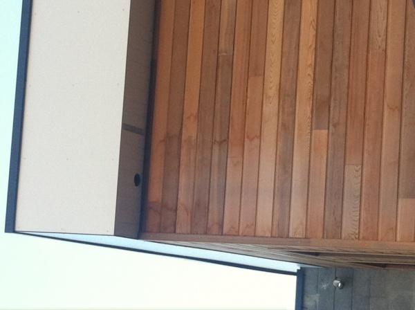 probl me humidit aur oles et t ches sur bardage red cedar. Black Bedroom Furniture Sets. Home Design Ideas