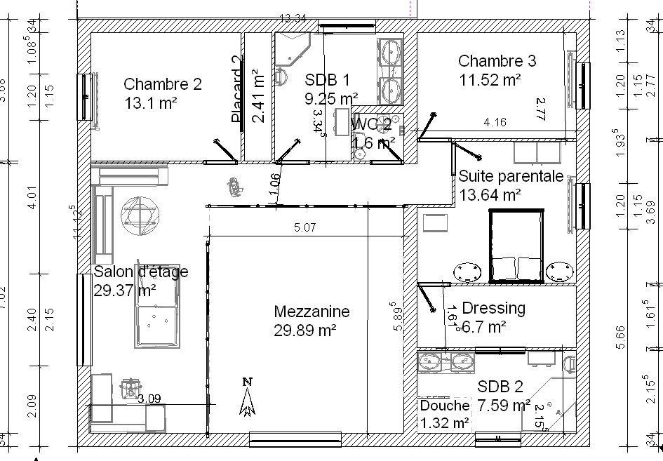 Projet autoconstruction : vos avis sur nos plans svp :) - 50 messages - Page 3