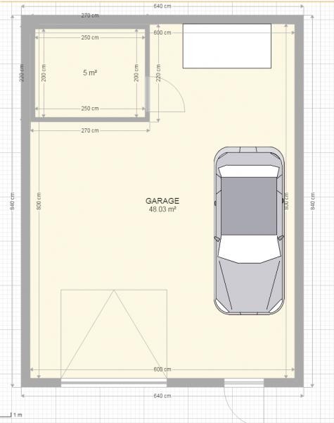 Projet de construction de garage limite de propri t 6 for Acheter une voiture dans un garage en plusieurs fois
