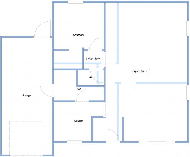 Le projet cube 25 messages for Plan de maison en cube