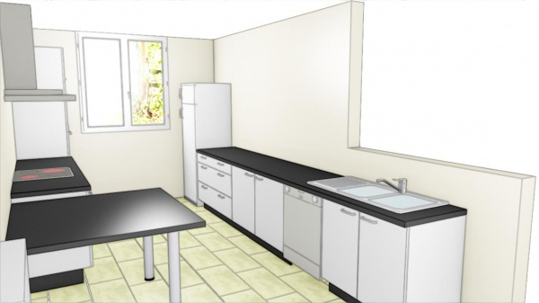 projet cuisine dans maison r novation cr dence p18 260 messages page 4. Black Bedroom Furniture Sets. Home Design Ideas