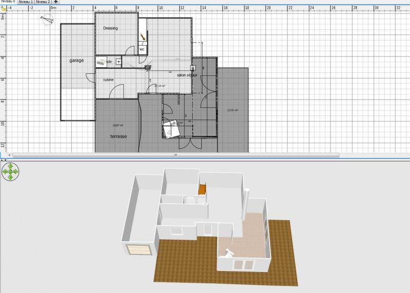 Projet d 39 extension d 39 une maison r cente 22 for Projet extension