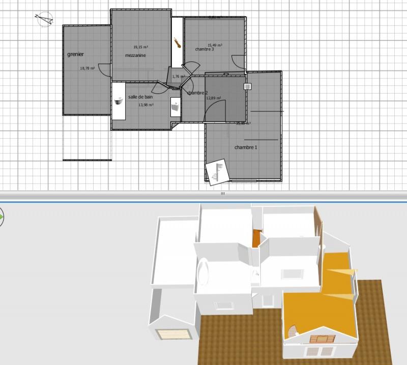 Projet d 39 extension d 39 une maison r cente 22 for Projet agrandissement maison