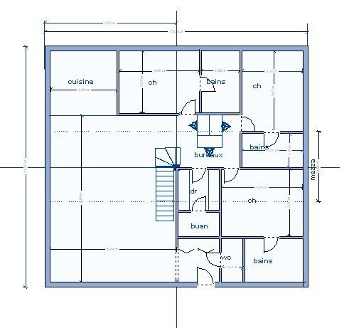 Plan maison 20m2 for Maison prefabriquee 20m2