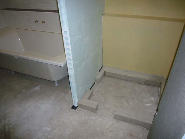 Mon projet de salle de bain complet 305 messages page 7 - Pose carreau de platre sur carrelage ...