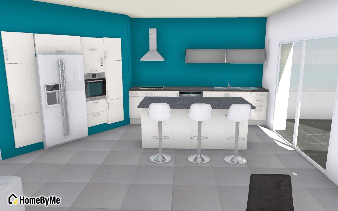 Les projets implantation de vos cuisines 8823 messages for Cuisine baie vitree