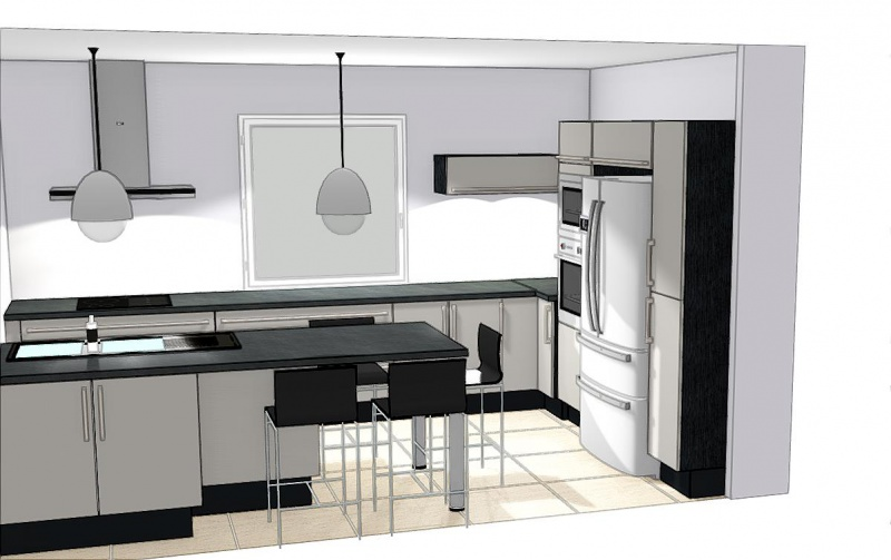 les projets implantation de vos cuisines 8859 messages. Black Bedroom Furniture Sets. Home Design Ideas