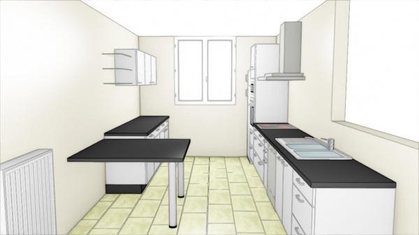 Projet Cuisine Dans Maison Renovation Credence P18 260