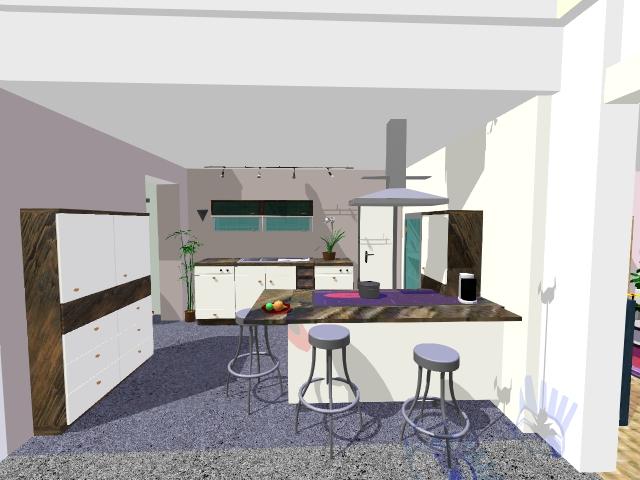 Les projets implantation de vos cuisines 8801 messages for Exemple implantation cuisine