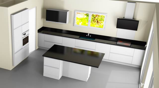 les projets implantation de vos cuisines 8902 messages page 370. Black Bedroom Furniture Sets. Home Design Ideas