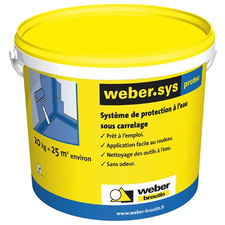 Quel syst me de protection l 39 eau sous carrelage spec for Produit hydrofuge pour carrelage de douche