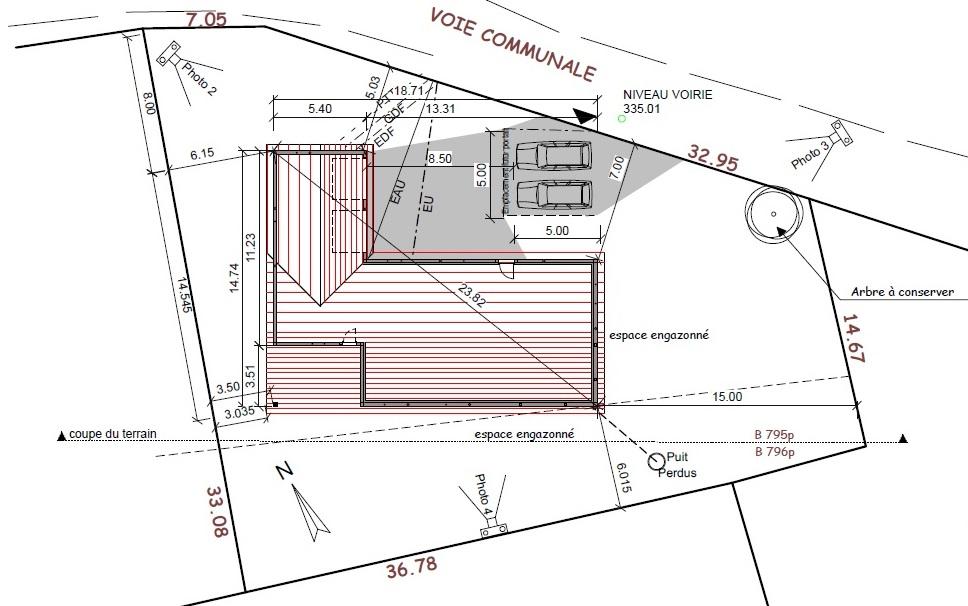 Fabuleux Questions techniques sur construction mur de clôture (1,80m) SR98