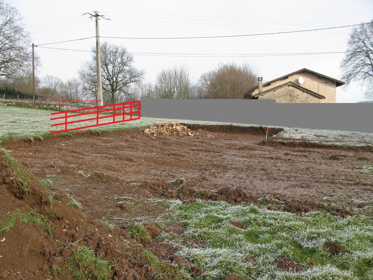 Questions techniques sur construction mur de cl ture 1 80m - Combien coute un mur de cloture ...