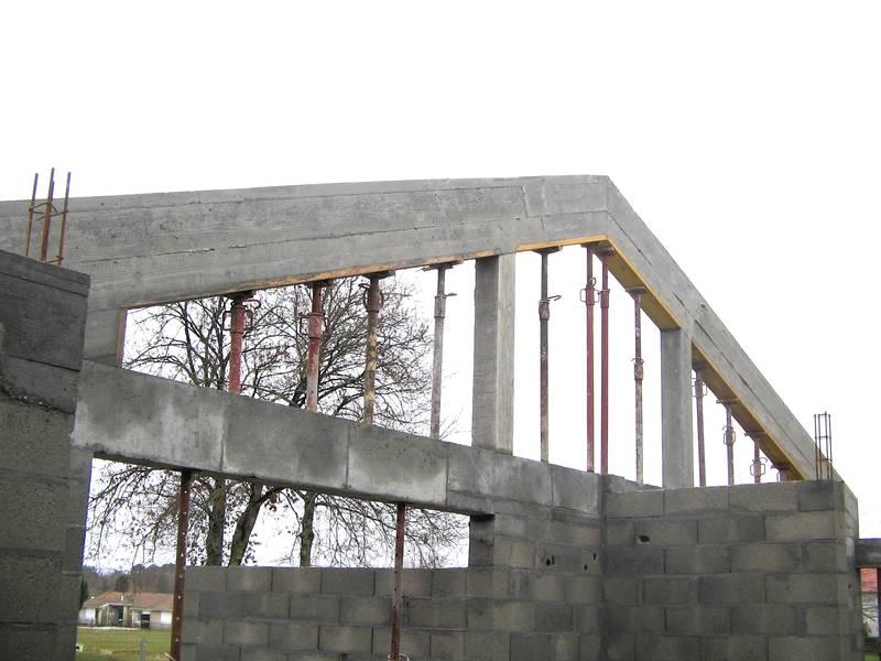 charpente en beton