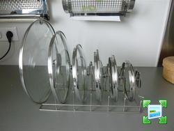 Rangement casserolier 22 messages Porte couvercle casserole