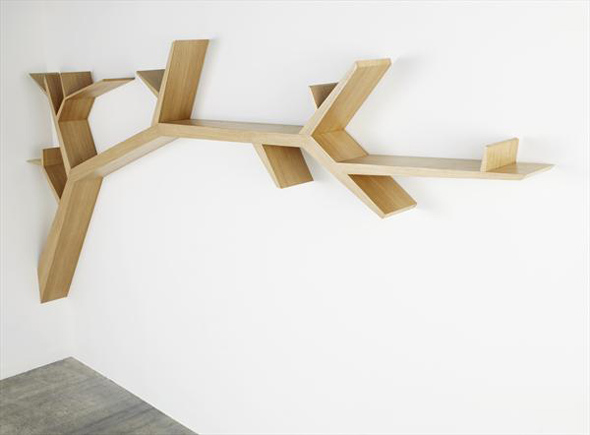 r alisation biblioth que murale 6 messages. Black Bedroom Furniture Sets. Home Design Ideas