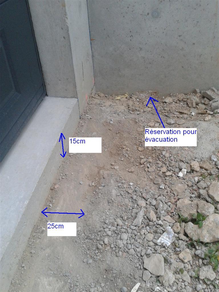 R alisation caniveau dans descente de garage 16 messages for Drain de garage installation