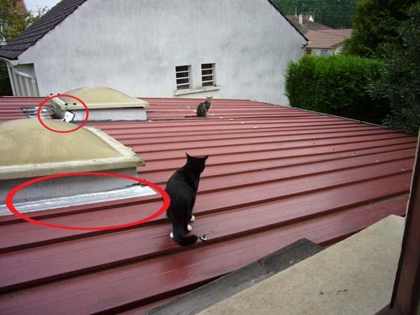 Refaire un toiture tr s faible pente trilatte zinc 60 messages - Poser des tuiles sur un toit ...