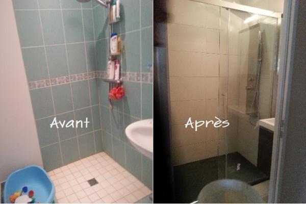On refait toute la petite salle de bain r cit photo 7 messages - Toute petite salle de bain ...