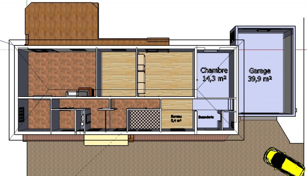 r habilitation et construction garage besoin d 39 avis 9 messages. Black Bedroom Furniture Sets. Home Design Ideas