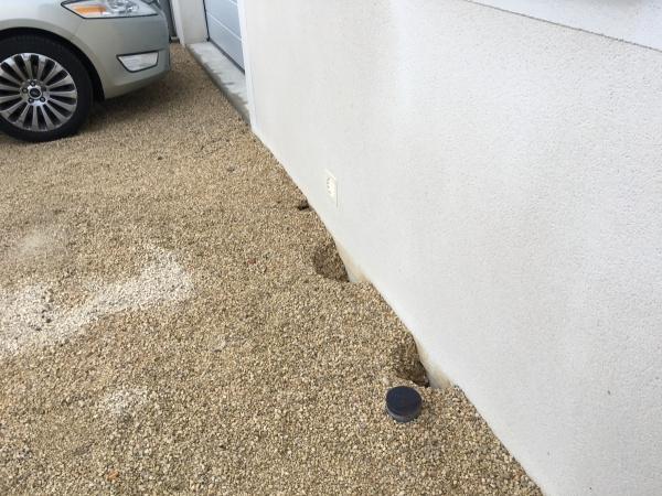 Extrêmement Remblayage /Mise a niveau du sol - maison sur longrines WC78