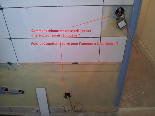 Salle De Bain  Dplacement De Prise Et Interrupteur